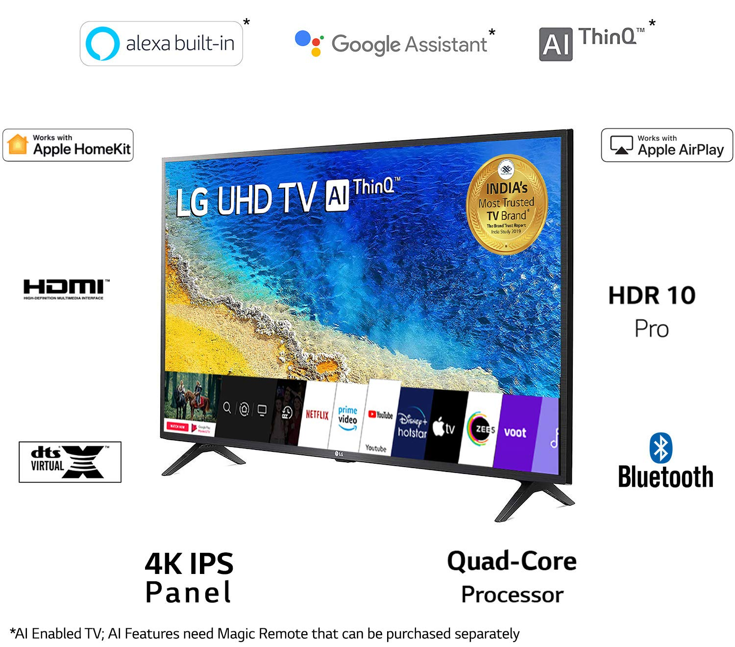 best 55 inch tv in india